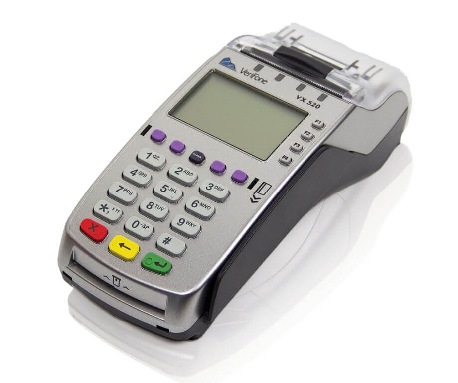 VeriFone Vx520 Ethernet CTLS терминал для карт