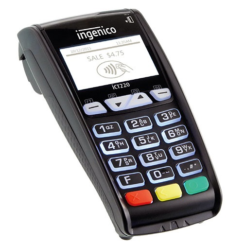 Ingenico iCT220 Ethernet POS терминал для карт
